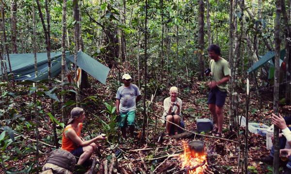 EXP-1 Fluss- und Urwaldexpedition Novo Airão - Rio Sobrado - Rio Apuaú - Novo Airão