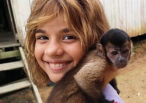 Amazonas Mädchen