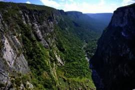Ausblick vom Wasserfall