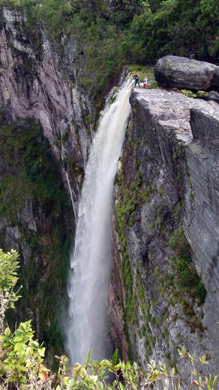 Boots- und Trekkingtour zum höchsten Wasserfall Brasiliens